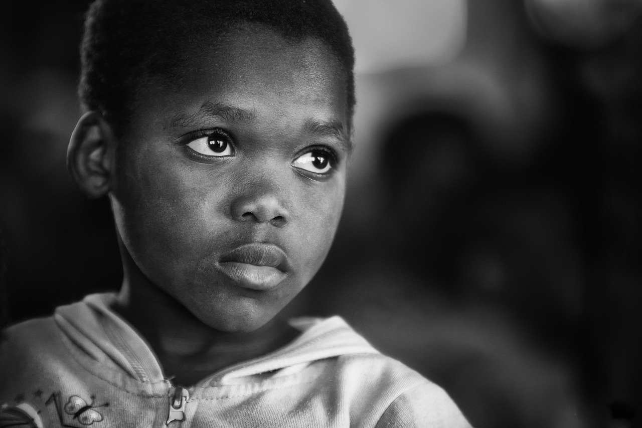 uganda-child-chances-for-children-charity-black-and-white