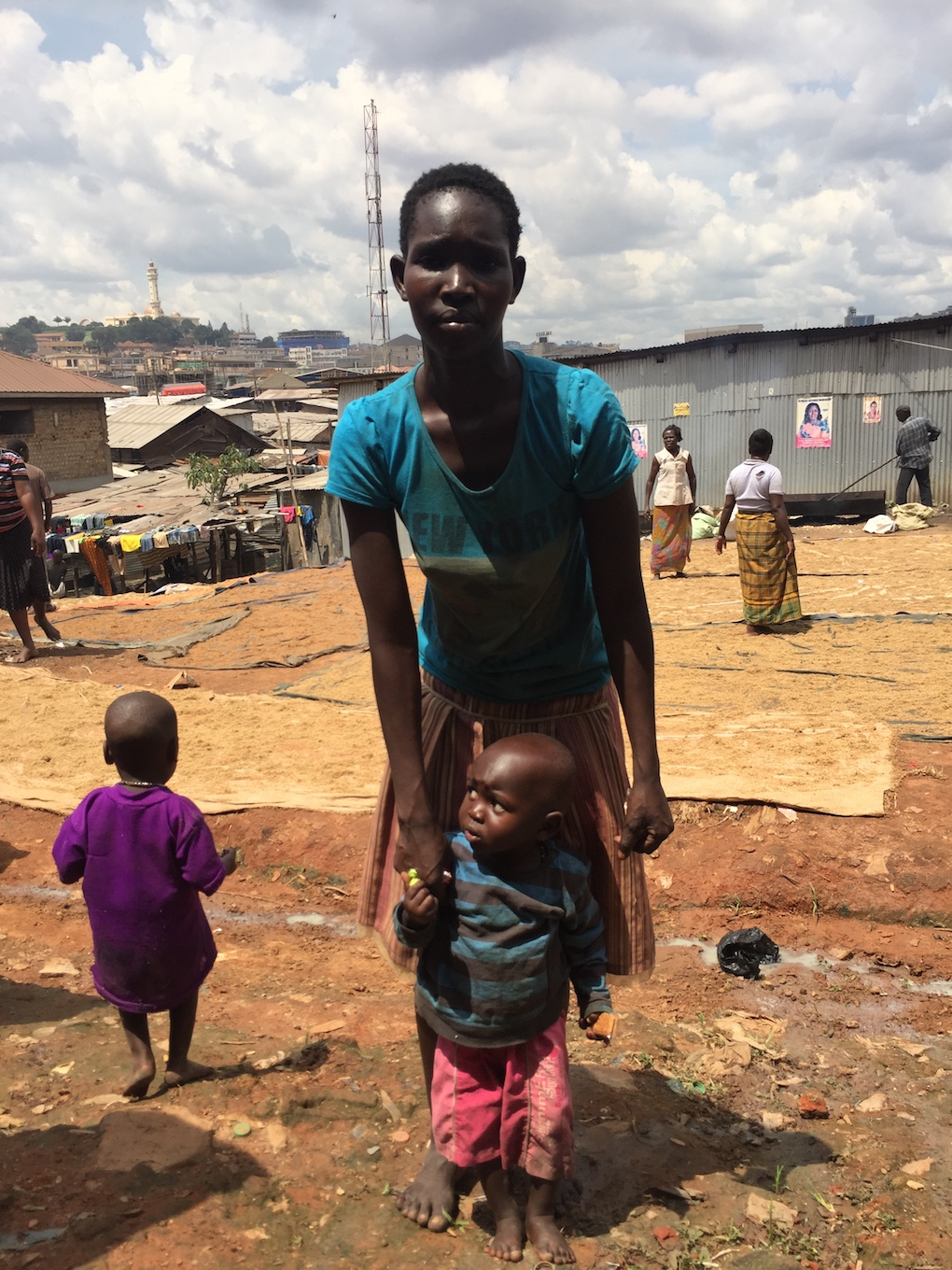 Kampala slums – where many of our children where rescued from