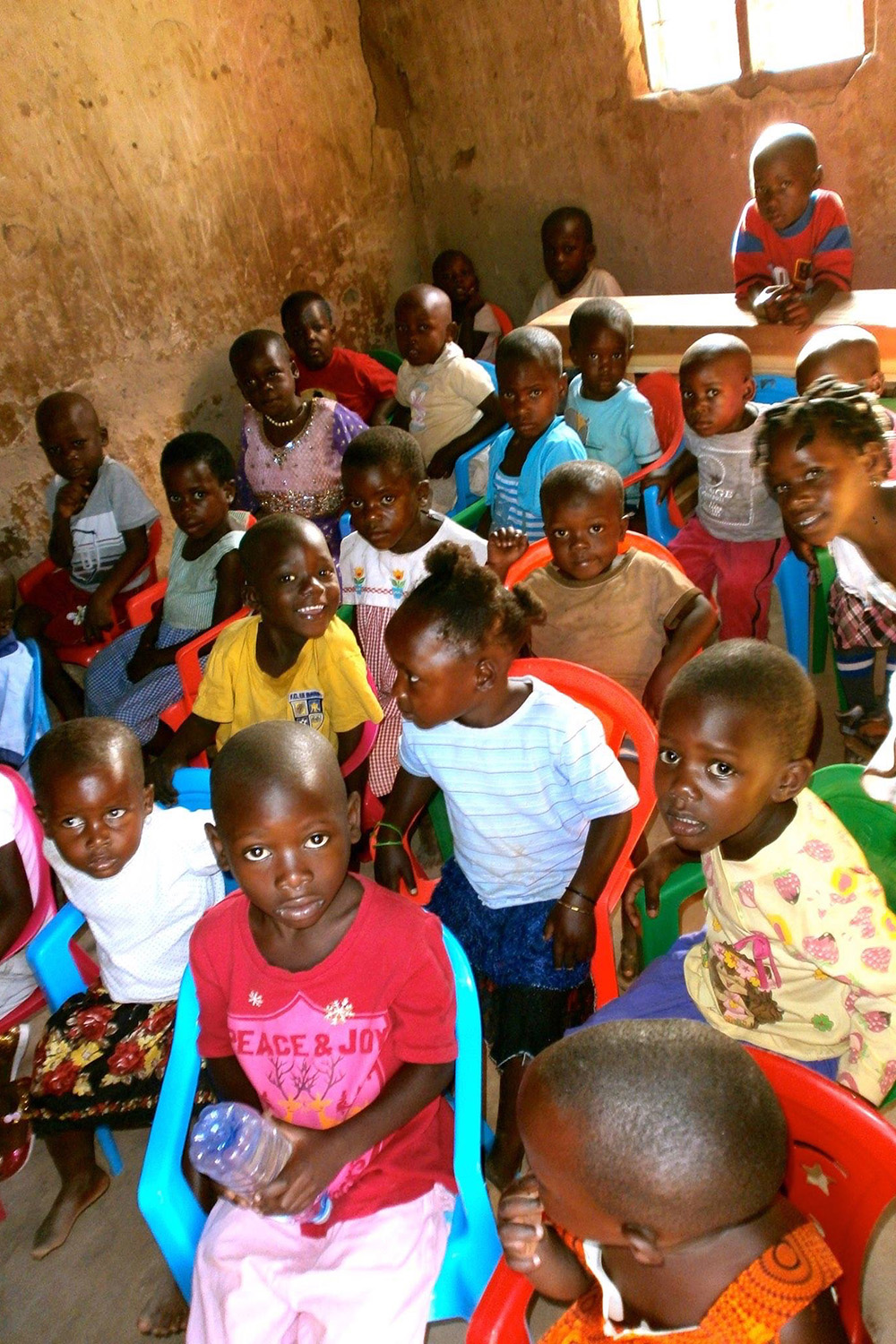 Classroom - Sponsor a child's education in Africa - Chances for Children